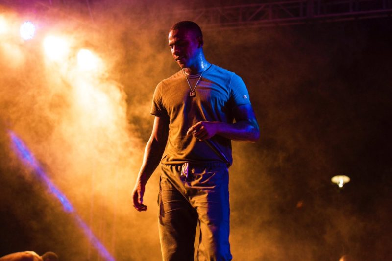 Skepta's performance at the first edition of Nativeland music festival