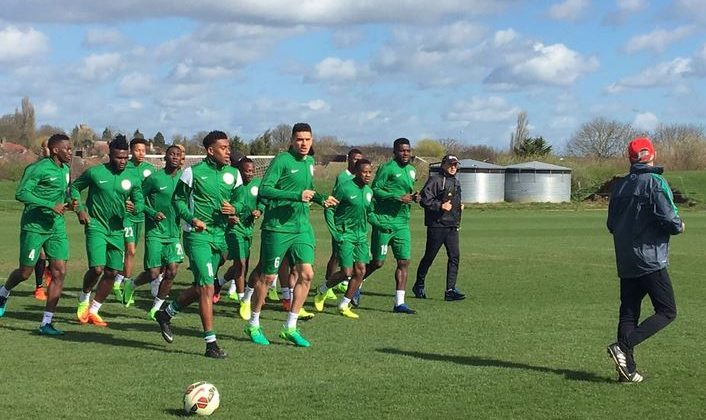 Super Eagles Inductees Give Musical Introduction - The Native