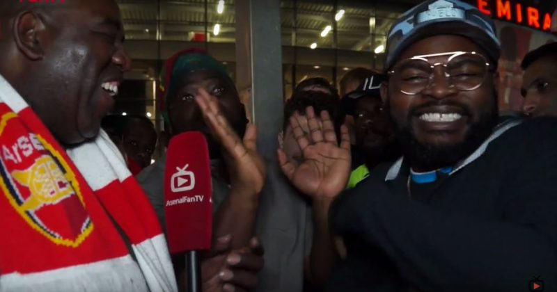 Falz makes a random and hilarious appearance on Arsenal Fan TV - The Native