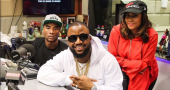 Cassper Nyovest at The Breakfast Club