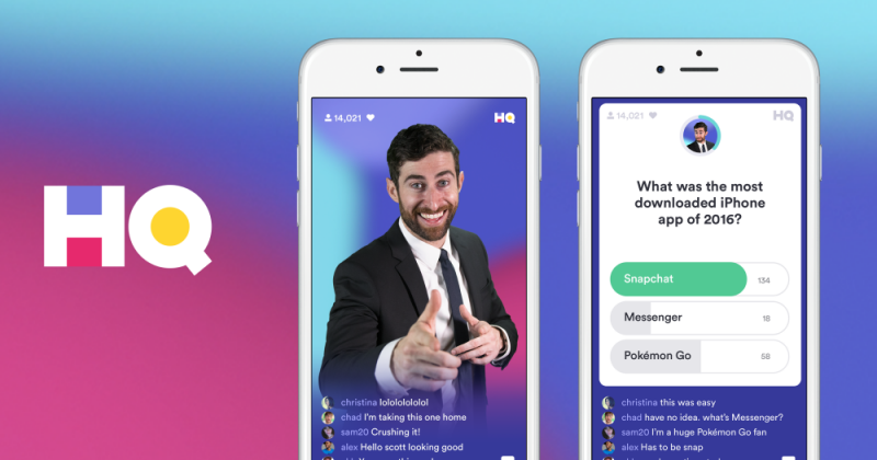 Image result for hq trivia