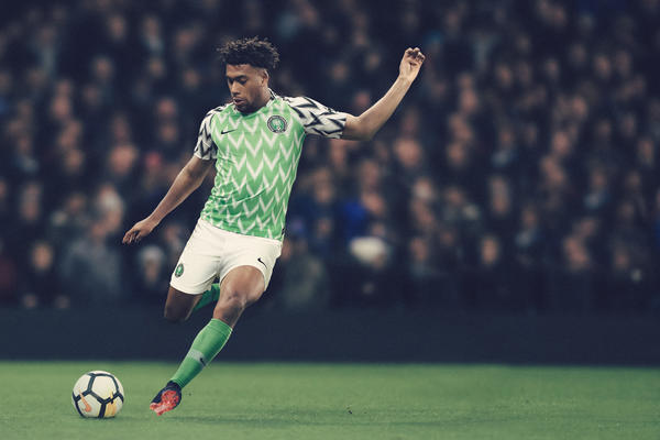 Nigeria's New World Cup Kit is Fire