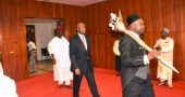 Someone stole the Nigerian Senate's ceremonial gold stick - The Native