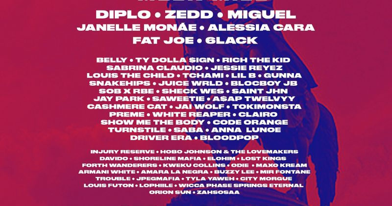 ODIE & Davido on Made in America festival lineup