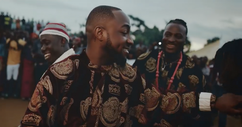 "DMW's ""AZA"" Music Video featuring Davido, Duncan Mighty and Peruzzi"