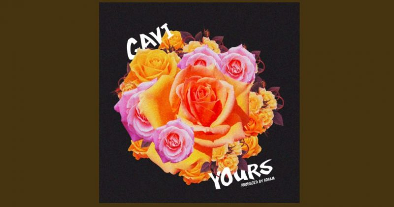 """Listen to """"Yours"""", a romantic new single by Gavi - The Native"""