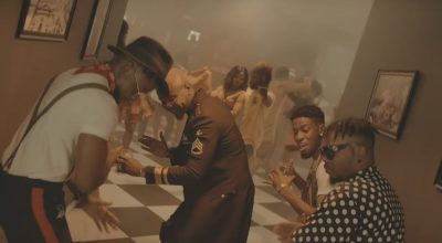 """It's a Caribbean house party in DJ Enimoney's """"Send Her Money"""" music video featuring Olamide, Lk Kuddy, Kizz Daniel and Kranium - The Native"""