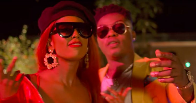 """Vanessa Mdee and Reekado Banks celebrate the glee of being in love in their """"Bambino"""" music video - The Native"""