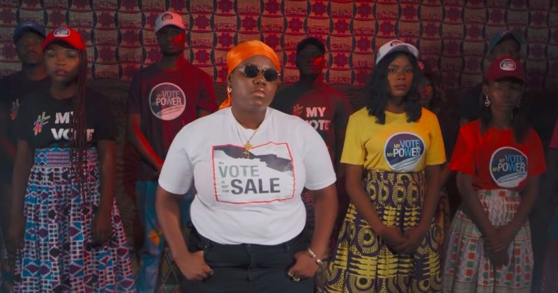 "INEC assembles 2Baba, M.I, Tenitheentertainer, Waje, Chidinma, Umar Shareef and Cobhams Asuquo for ""Not For Sale"" - The Native"