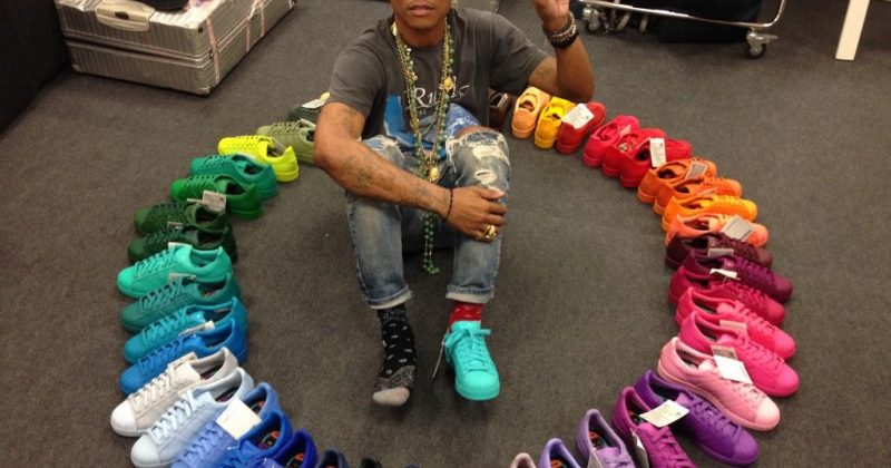 pharrell adidas sneakers for sneakerhead