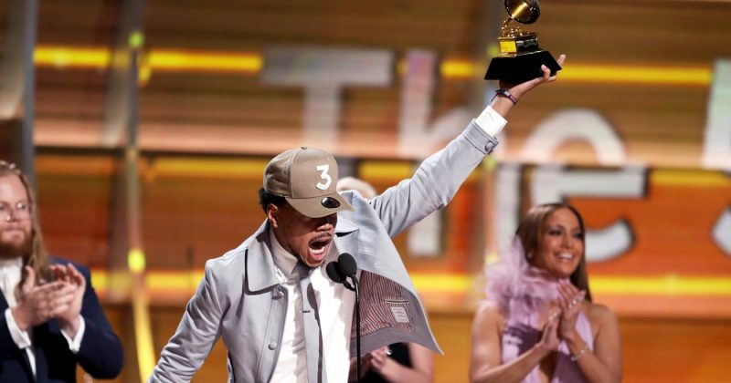 Chance the rapper at the grammys