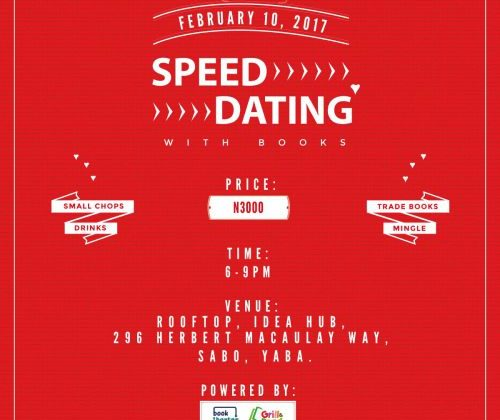 Speed Dating With Books - idea hub, yaba