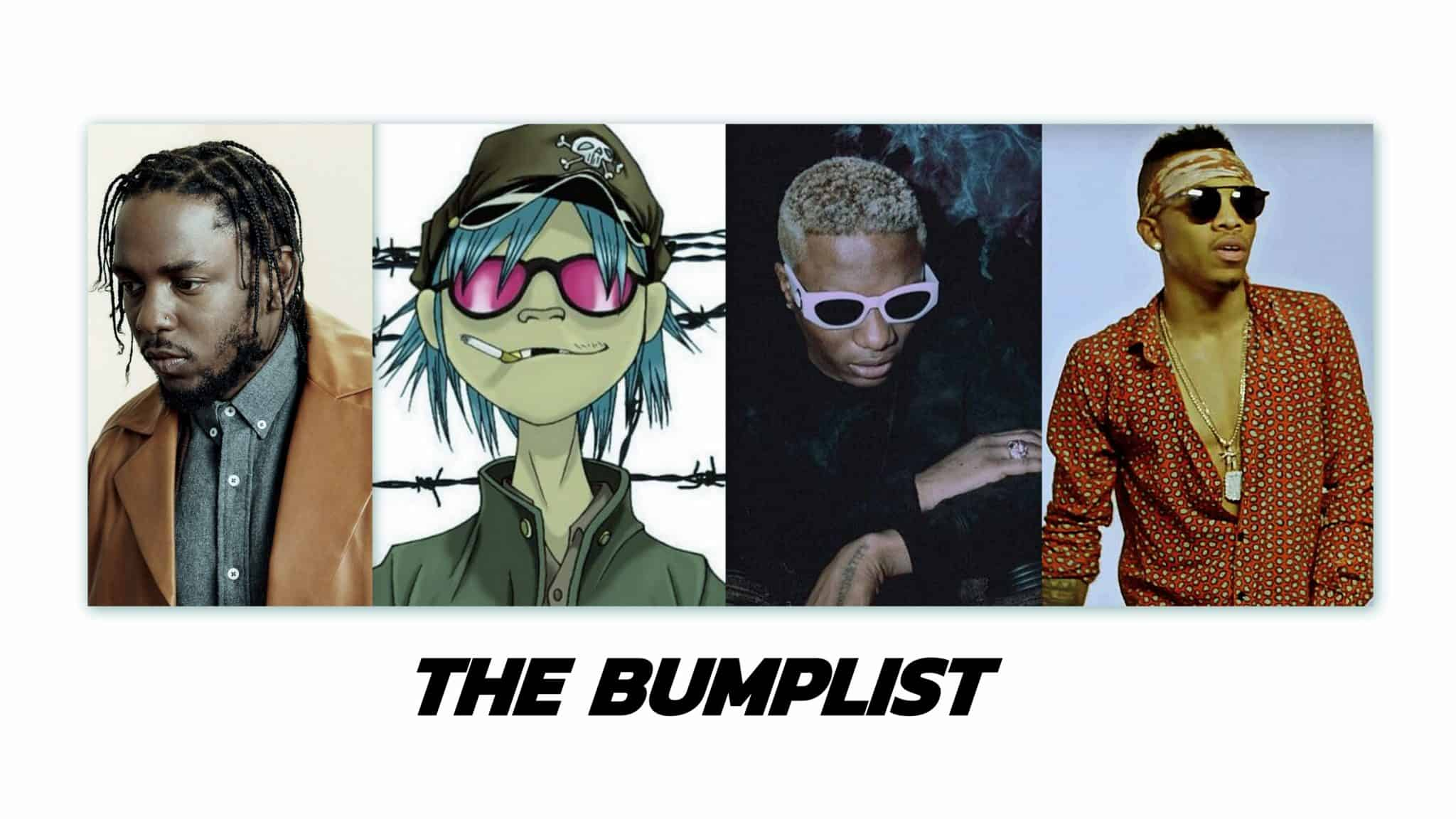 The Bumplist: Wizkid, Kendrick Lamar and 6 other artists you need right now