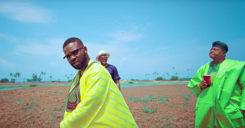 """Watch Falz roll his agbada on an island in """"Baby Boy"""" video - The Native"""