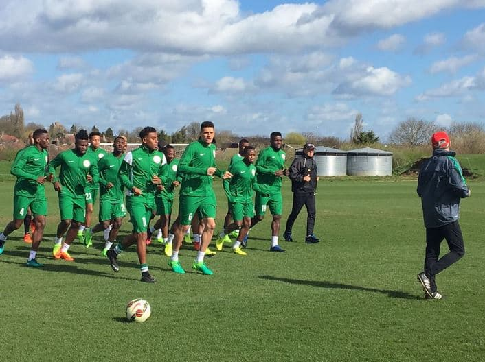 Super Eagles Inductees Give Musical Introduction