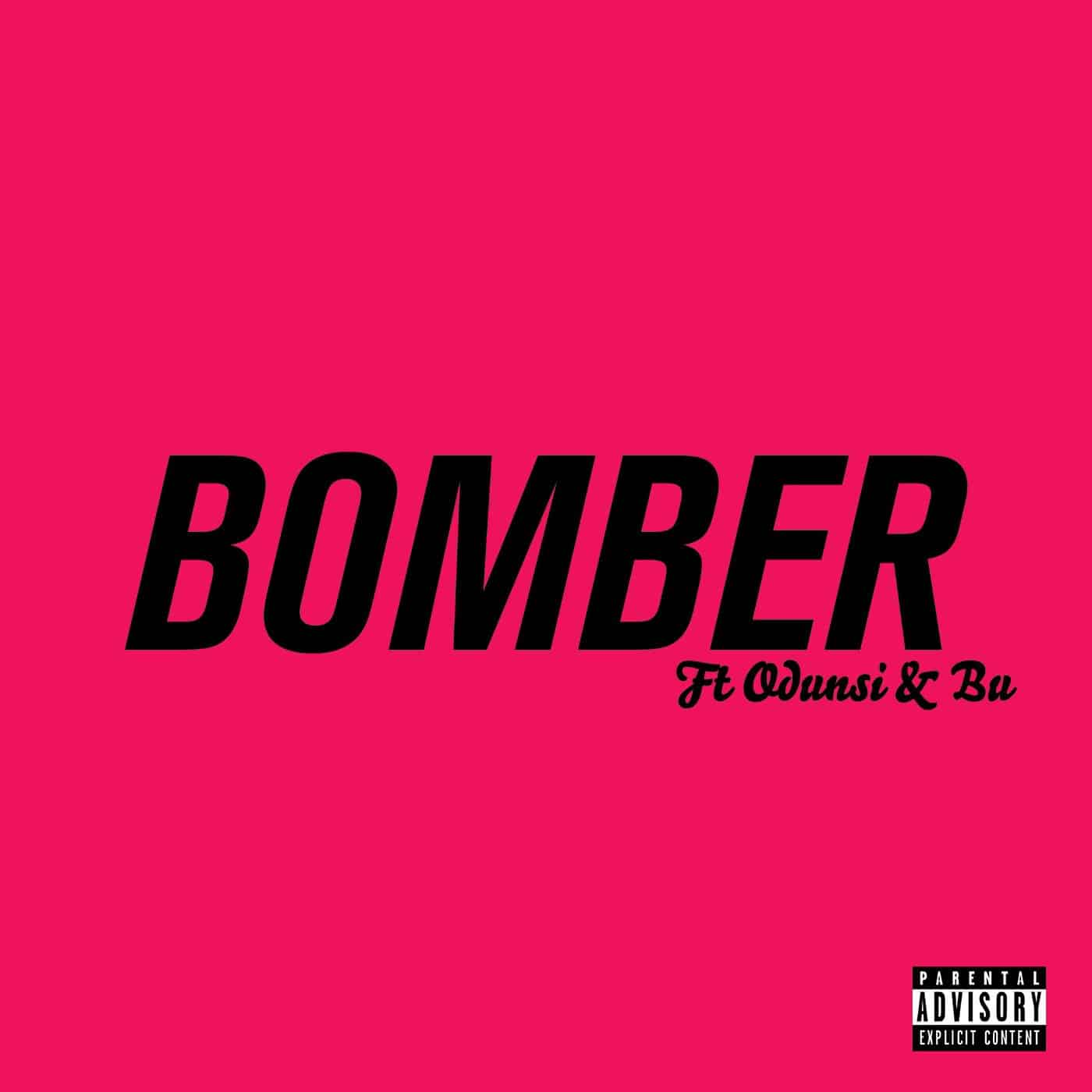 """Bs links up with Odunsi The Engine and Abu on """"Bomber"""""""