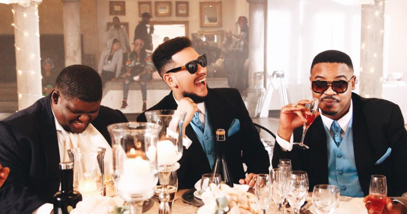 "A possible wedding between Matheba and Forbes? Watch AKA's music video for ""Caiphus Song"""