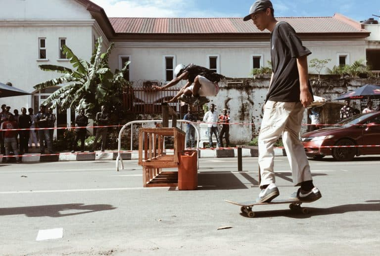 See Highlights from WAFFLESNCREAM x NATIVE BMX Skate Jam