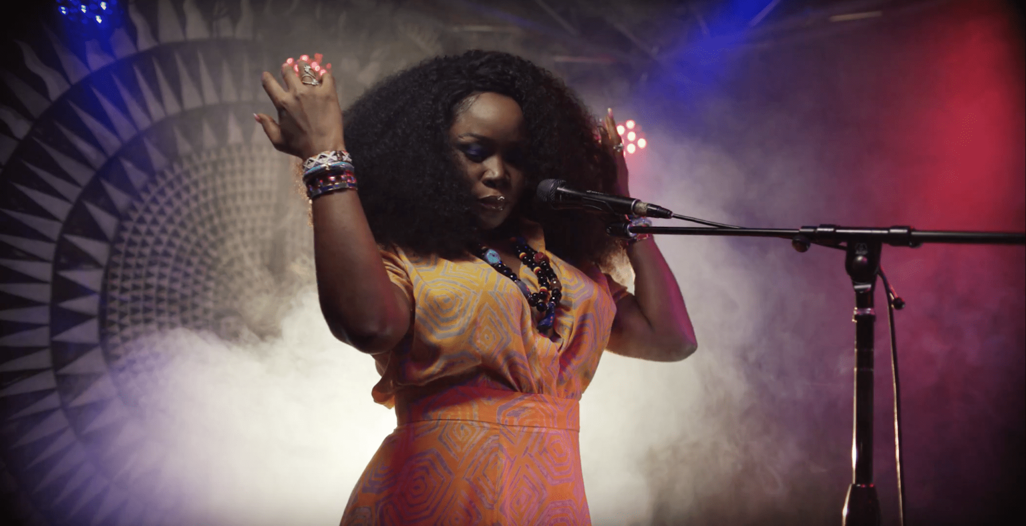 """Watch Omawumi's """"I No Sure"""" off her new album, Timeless"""