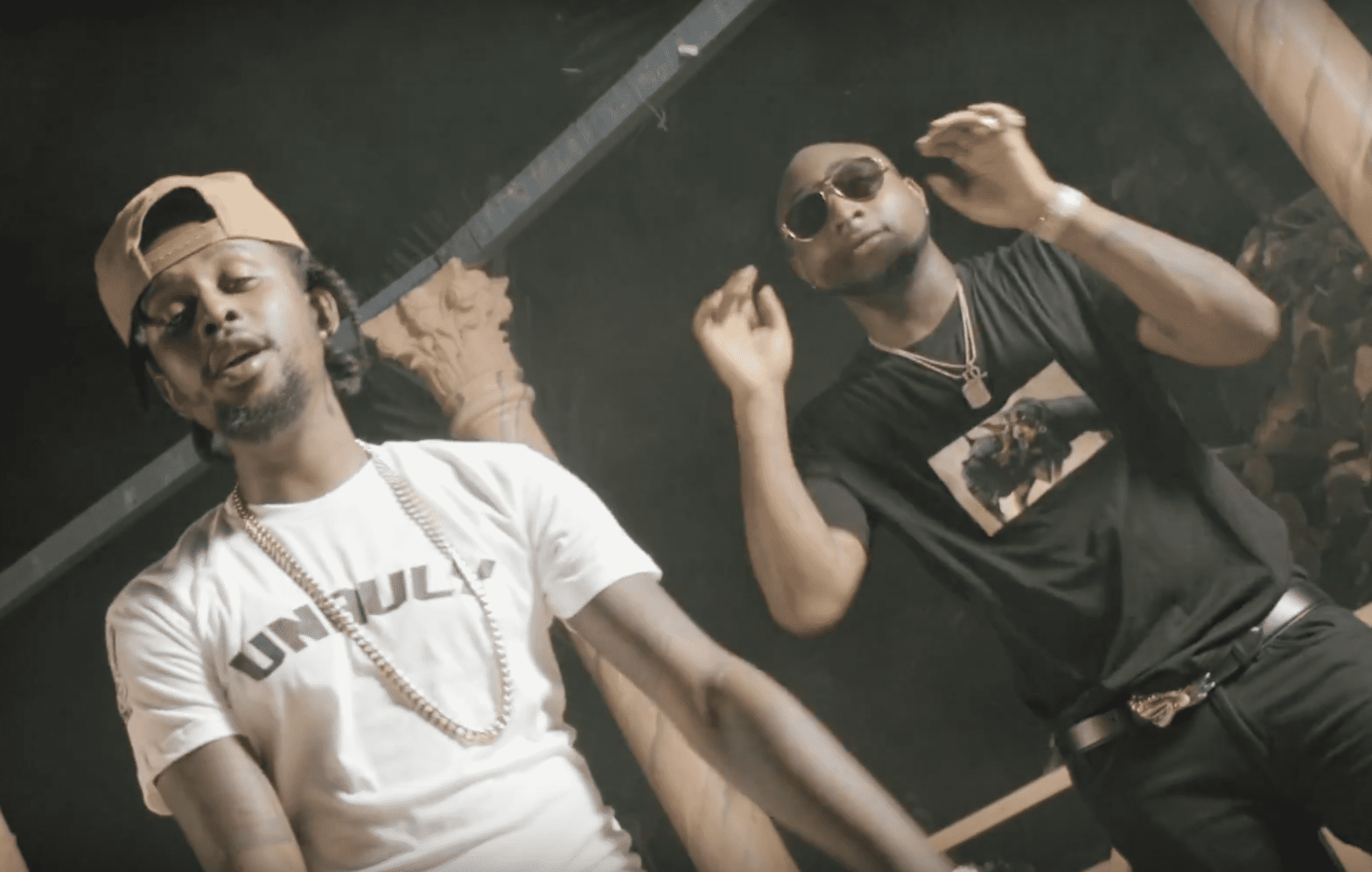 """Popcaan and Davido debut """"My Story"""" video for the girls on the Snap"""