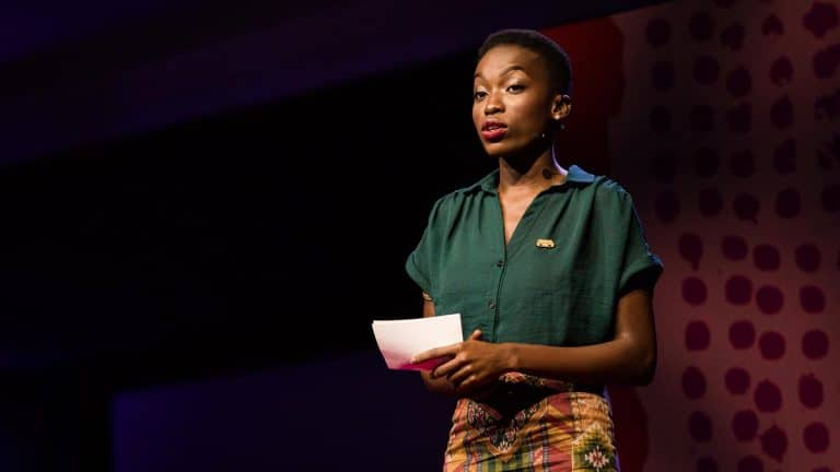 Timehin Adegbeye gave a little Talk that just might change the world