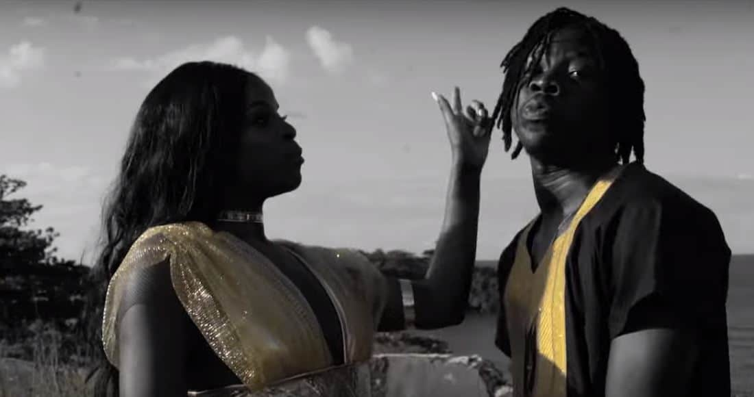 "Watch Stonebwoy's video for ""Hold On Yuh"" featuring Khalia"