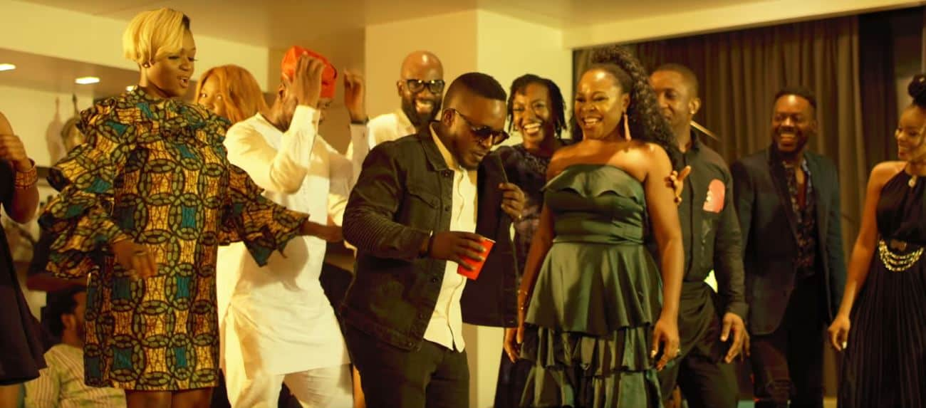 """You should get in on the positive energy beaming from Omawumi's """"Somtin"""" video"""
