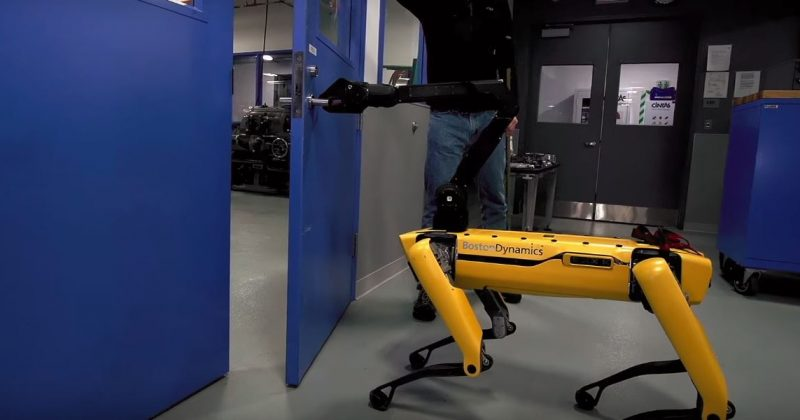 This robot dog may real life open your door and kill you - The Native