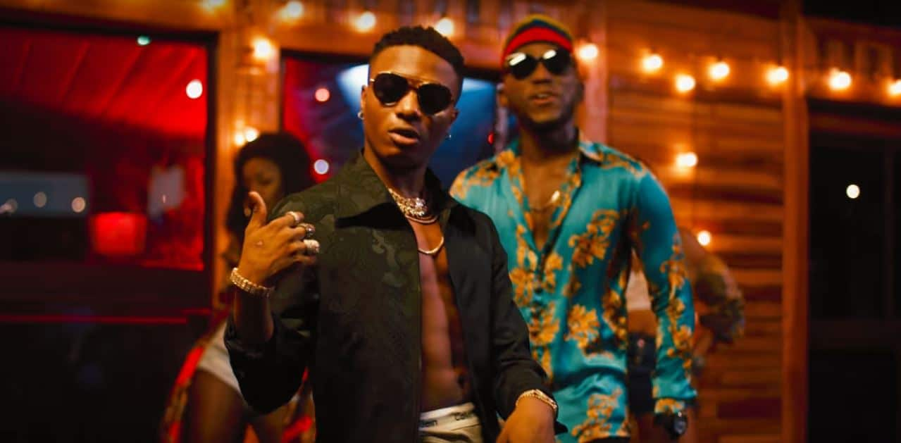 "Watch DJ Spinall and Wizkid's video for ""Nowo"""