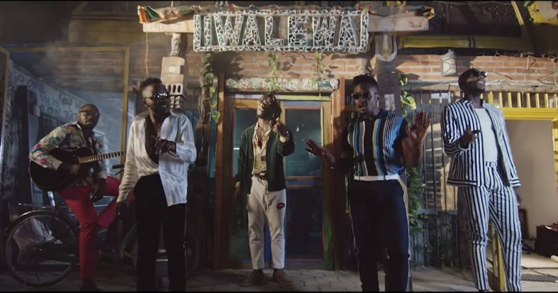 Sauti Sol, Burna Boy - Afrikan Star