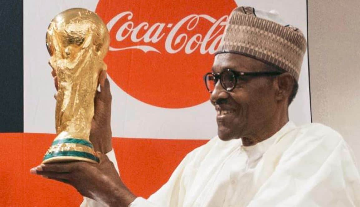 FIFA World Cup Trophy makes pit-stop in Nigeria