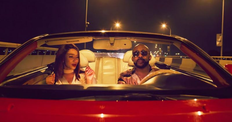 """Watch Adesua and Banky W play in the video for the remix of Banky's """"Whatchu Doing Tonight"""" - The Native"""