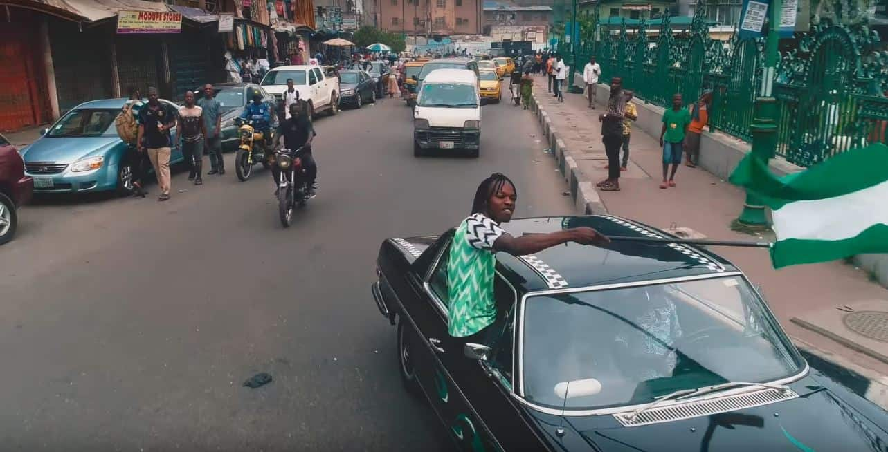 """Watch the video for Naira Marley's """"Issa Goal"""" featuring Olamide and Lil Kesh"""