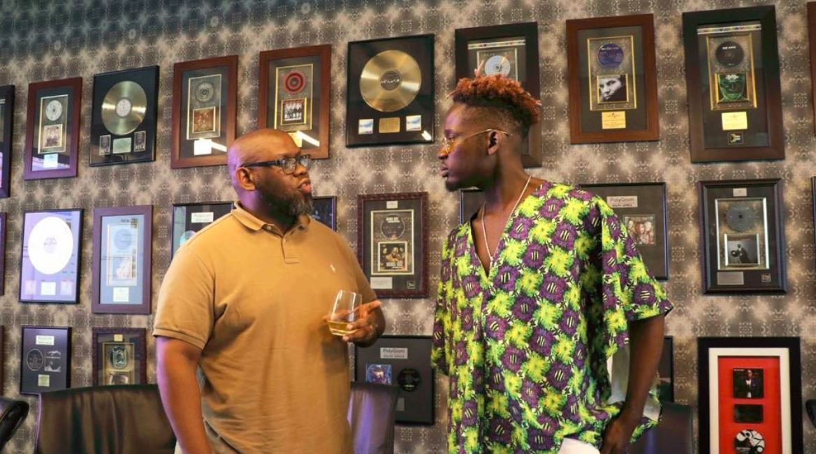 Mr Eazi's signs distribution deal with Universal Music for