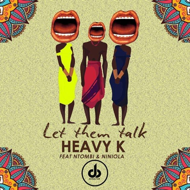 "Listen to Niniola on Heavy K and Ntombi's ""Let Them Talk"""