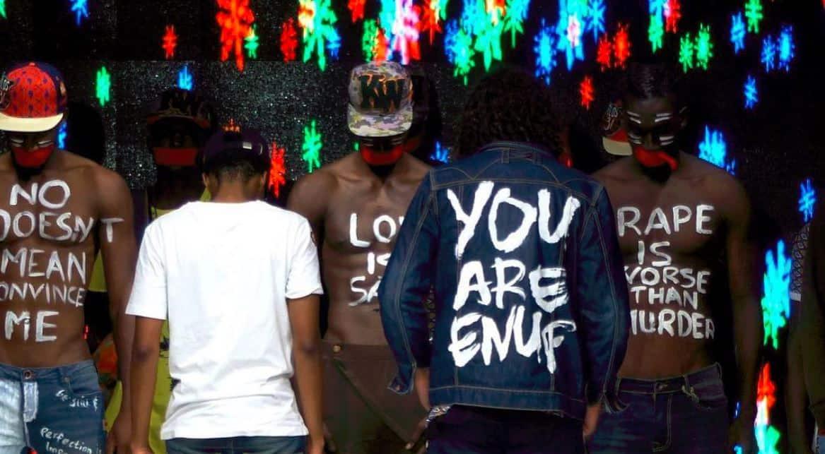 Designers, Didier De Villiers and Mothei Khomiso set political tone at Dakar Fashion Week in Senegal