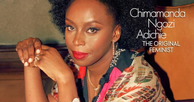 Chimamanda Ngozi Adichie Covers Elle India's September Issue The Original Feminist