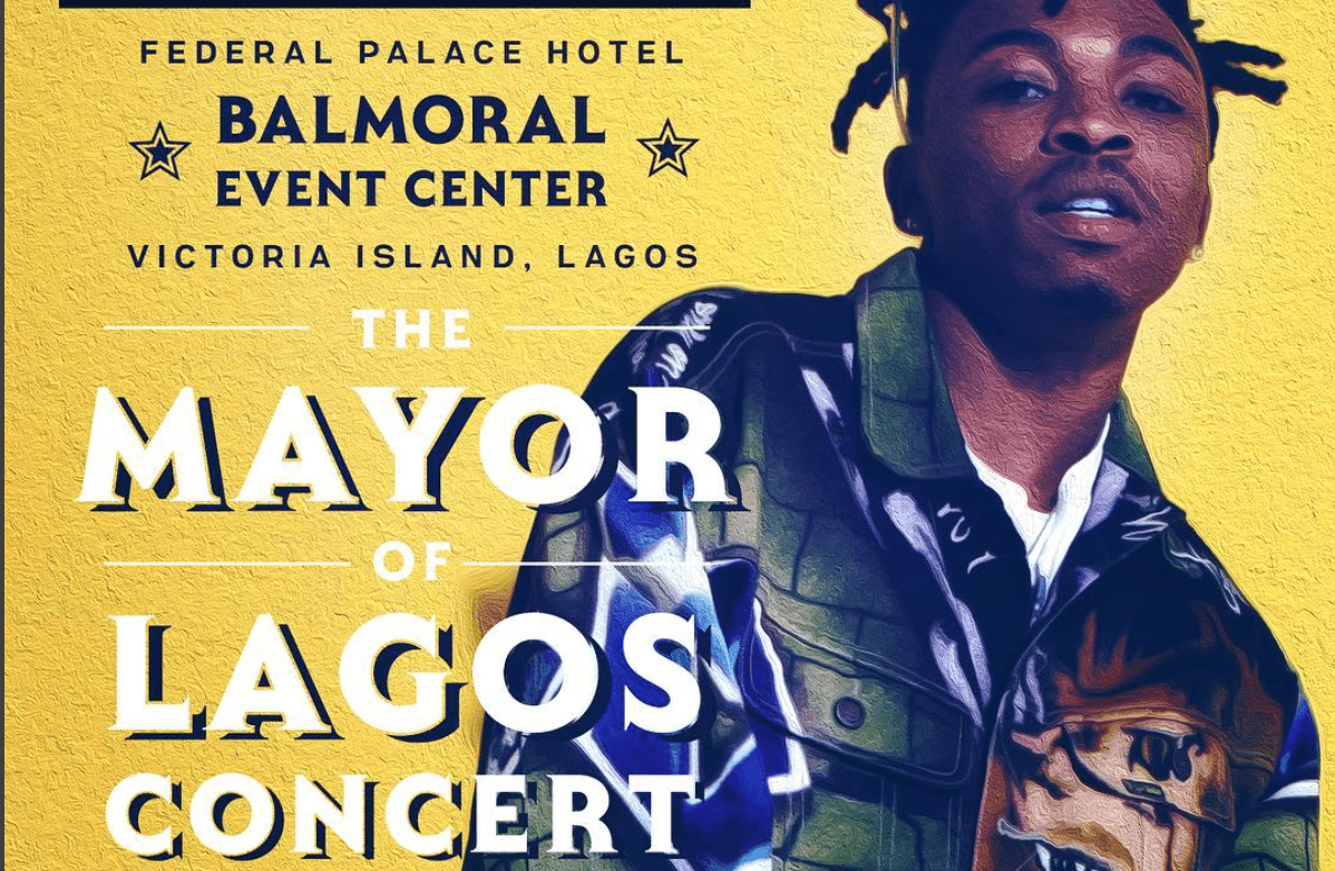 Mayorkun announces 'The Mayor Of Lagos' concert date