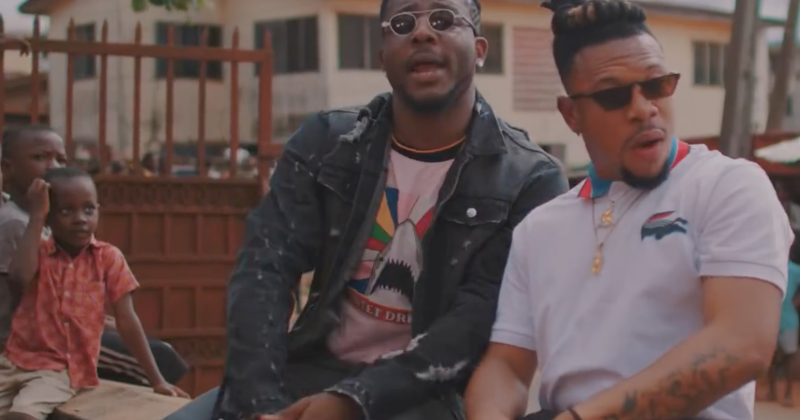 "Watch Zoro and Mr Real on the streets of Onitsha for ""Upandan"""