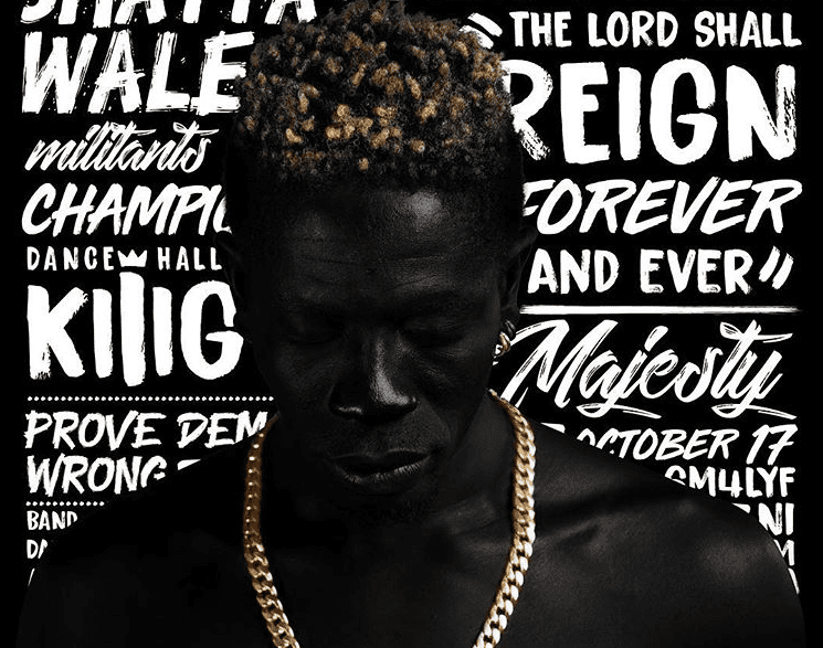 Shatta Wale reveals album art and tracklist for 'Reign'