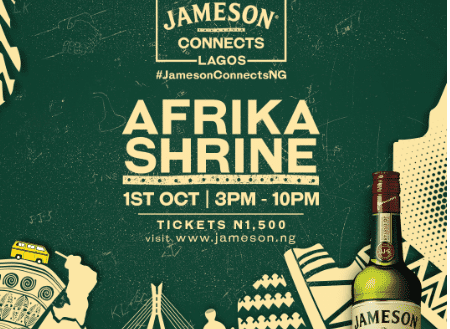 Jameson Connects Lagos with Boj and Seun Kuti for Independence Day Concert