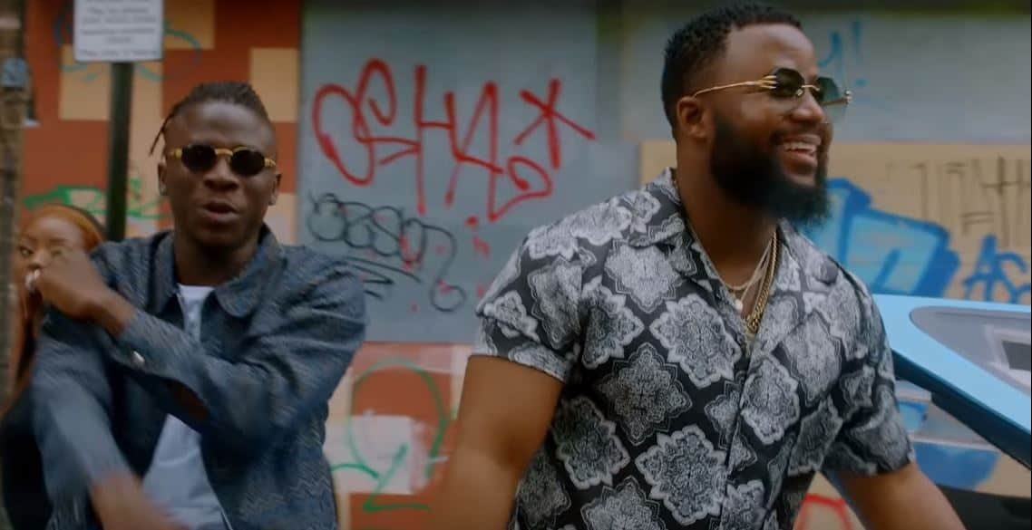 """Stonebwoy and Cassper Nyovest link up for """"Wame"""" video"""