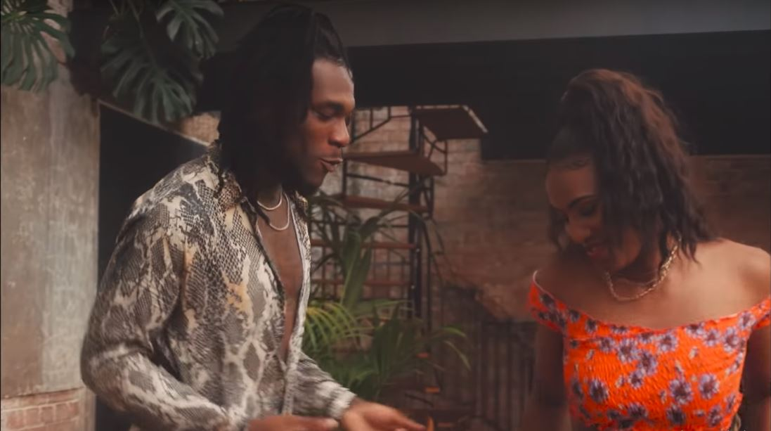 Burna Boy shows a seldom seen romantic side for his new music video