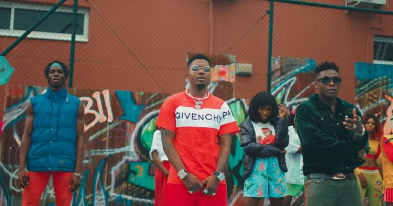 "See the music video for ""Sensima"" by Skiibii and Reekado Banks - The Native"
