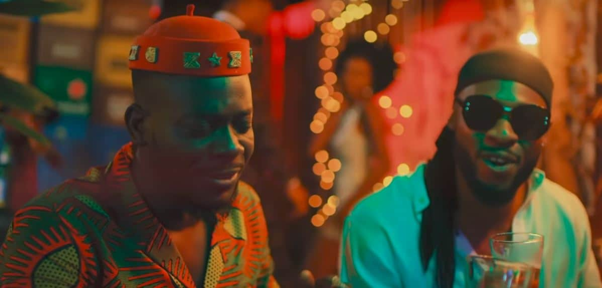 "Adekunle Gold shares music video for Flavour assisted ""Yoyo"" track"