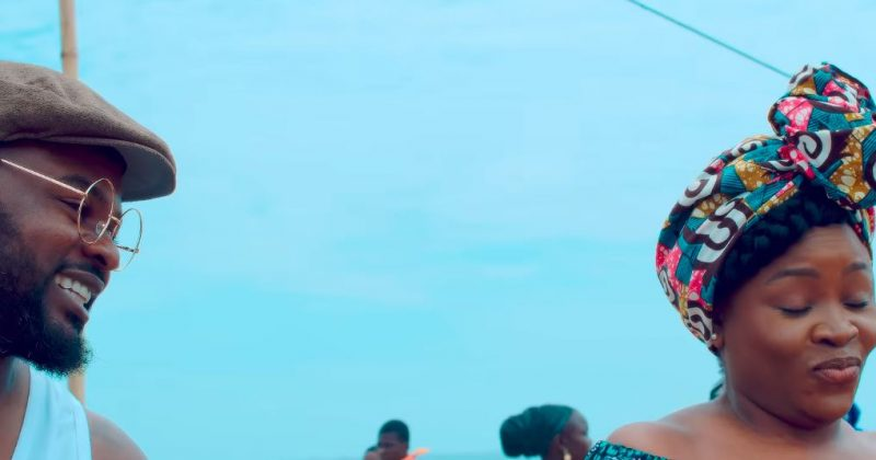 "Watch the romantic music video for Omawumi and Falz new single, ""Hold My Baby"" - The Native"