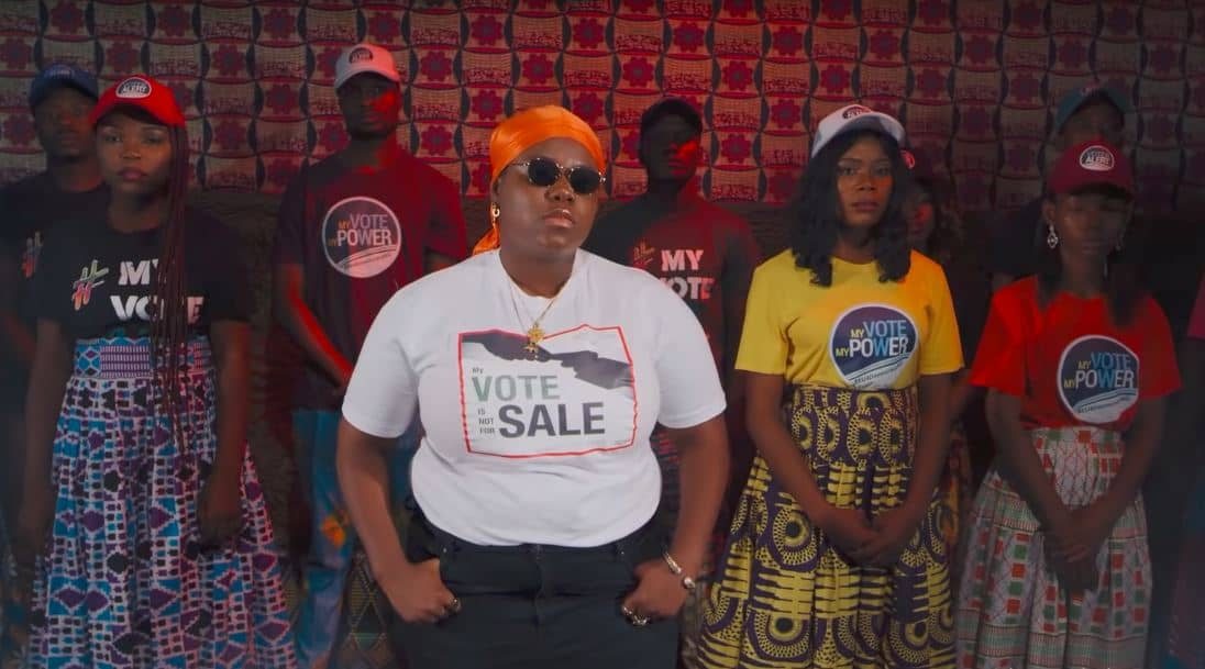 "INEC assembles 2Baba, M.I, Tenitheentertainer, Waje, Chidinma, Umar Shareef and Cobhams Asuquo for ""Not For Sale"""