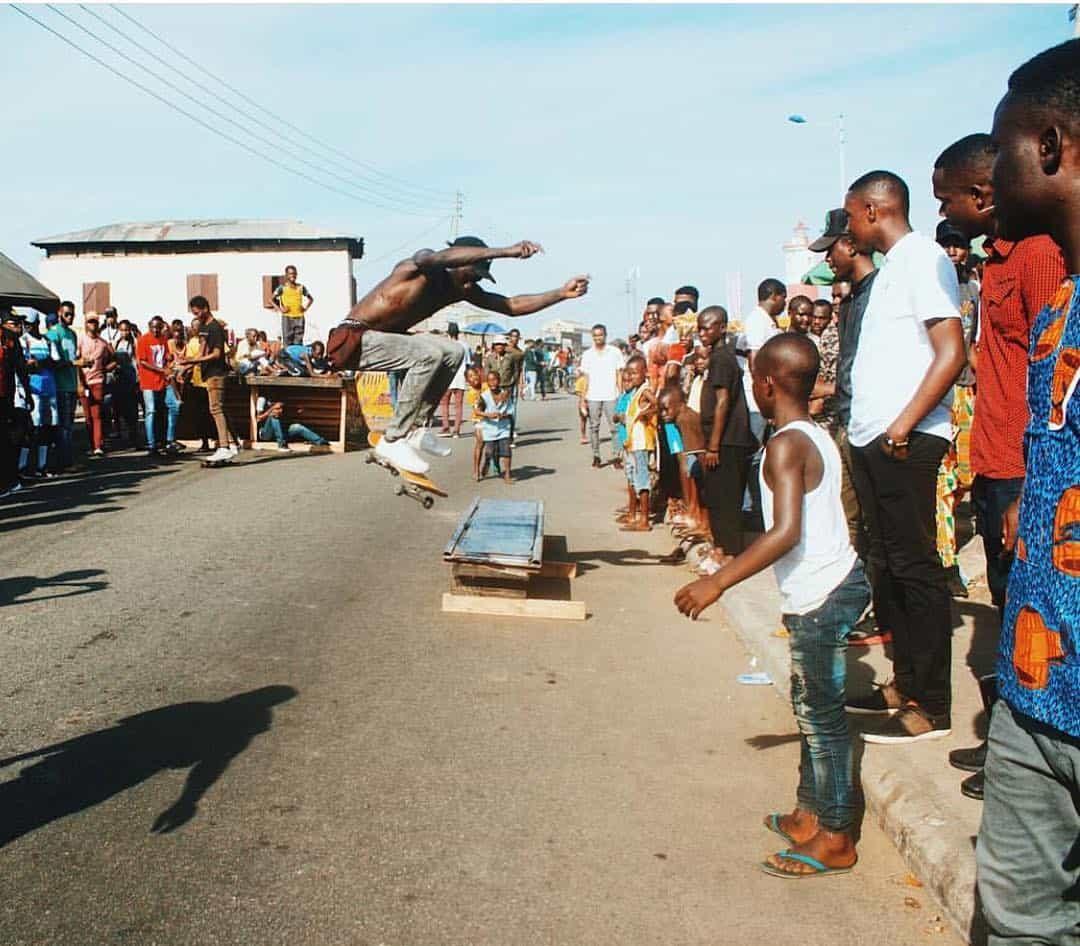 WafflesNCream start gofundme for Lagos skate park