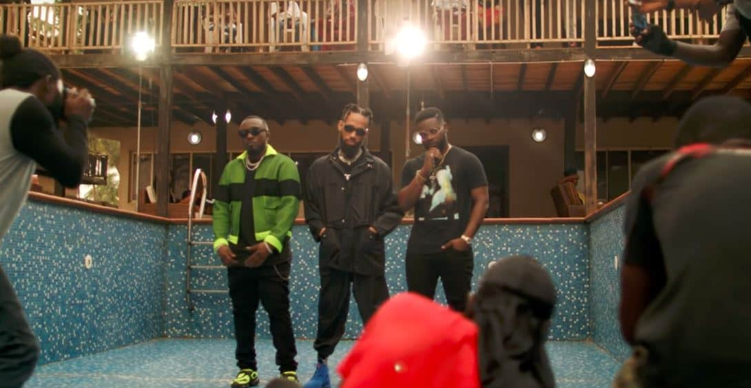 """Watch the music video for Ice Prince, Falz and Phyno's """"Feel Good"""""""