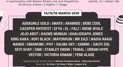 """SXSW announce a 3-day stage, """"Africa To The World"""", for SXWS 2019 - The Native"""